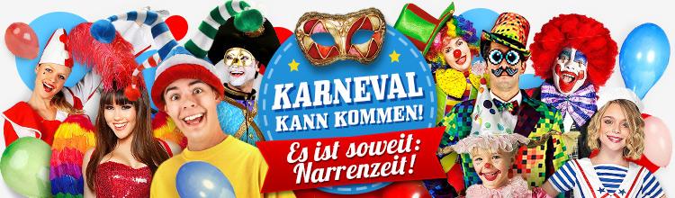 Faschingskostüme 2016 - Karneval Kostüme online kaufen