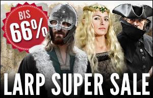 Role Play Convention 2015: LARP Super Sale - bis zu 66% reduziert!
