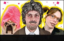 Bad Taste Faschingskostüme für Eure Motto-Party: Mit diesen trashigen Kostümen und Outfits wird Eure Bad Taste Party zum Erfolg!
