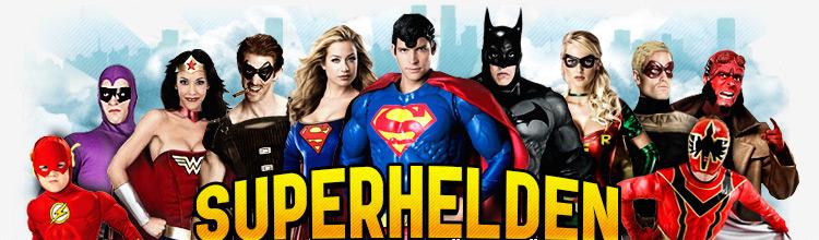 Superhelden Kostüme - die Klassiker unter den Faschingskostümen