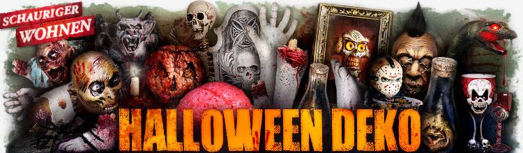Halloween Deko und Deko Artikel für die Gruselparty