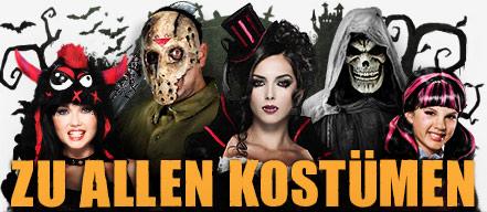 Halloween Kostüme - Halloweenkostüme & Halloween Verkleidung kaufen