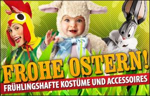 Oster Kostüme und frühlingshafte Verkleidungsideen online kaufen