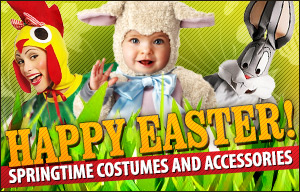 Springtime Costumes and Accessories for Easter