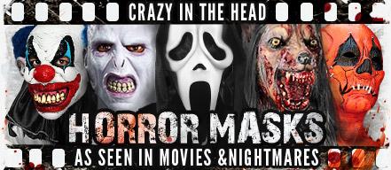 Horror Masks -  As seen in Movies & Nightmares