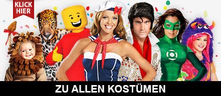 Faschingskostüme 2015 - Karnevalskostüme und Fastnachtskostüme kaufen