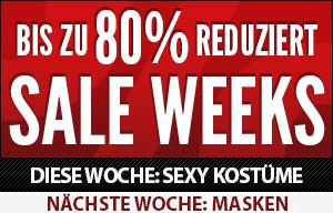 SALE WEEKS - bis zu 75% reduziert!