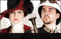 Steampunk Kleidung für Damen und Herren, Steampunk Masken, Steampunk Zylinder und noch viel mehr Artikel zum Thema Steampunk findet Ihr bei uns im Shop.