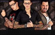 Für Fasching, Karneval, Halloween, Mottopartys oder einfach nur so: Tatto Ärmel und Tattoo Shirts. Täuschend echte Tattoo-Looks einfach überziehen.