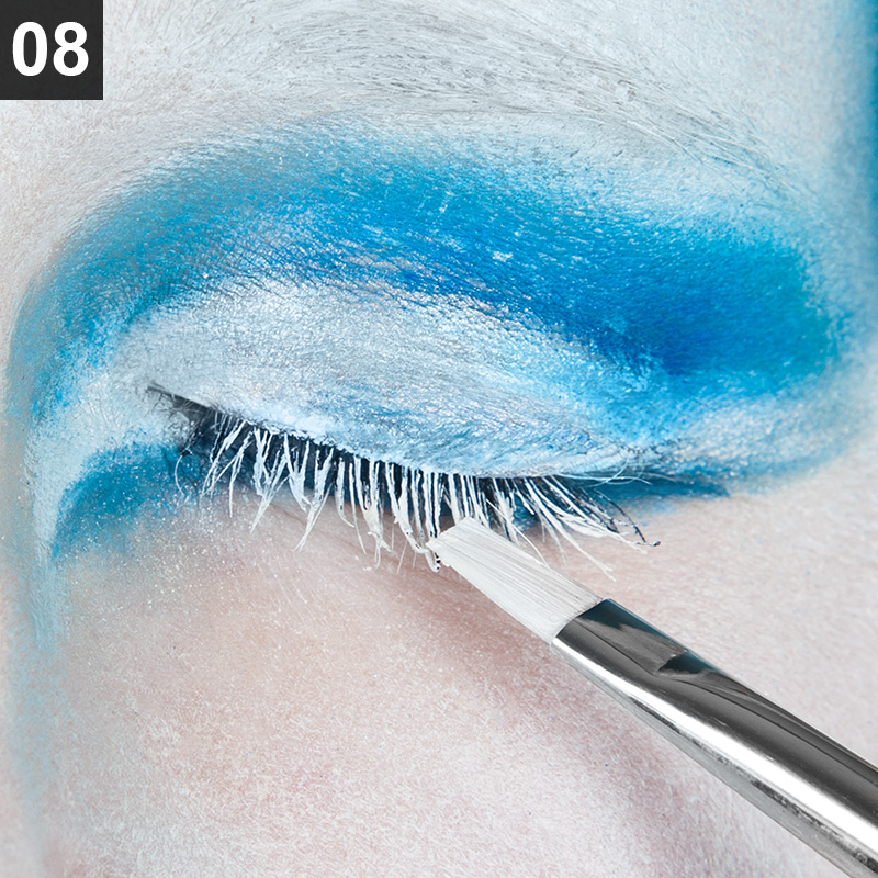Faschings-Make Up Tutorial Augen