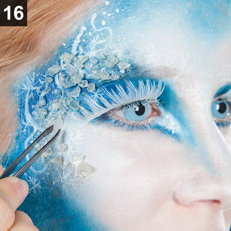 Eiskonigin Schminktipp Schneekonigin Make Up Fur Fasching