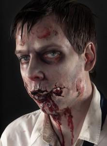 Zombie Wunde für Zombie Walk online bestellen Halloween Spezialeffekte Horror FX