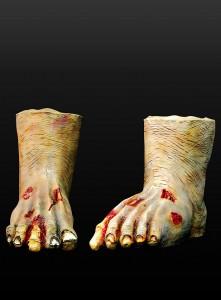 Zombiefüsse für Zombie Walk online kaufen Horrorfüße Monsterfüße