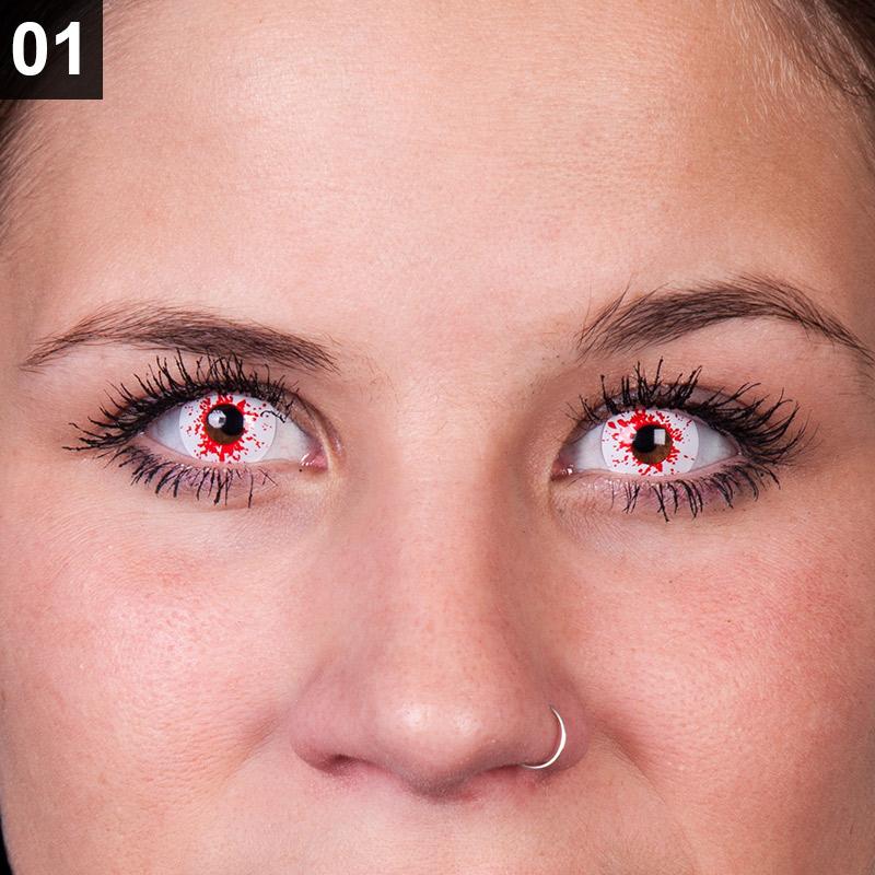 Schritt 1: Kontaktlinsen einsetzen