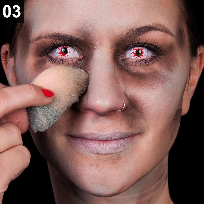 Schritt 3: Gesicht schattieren