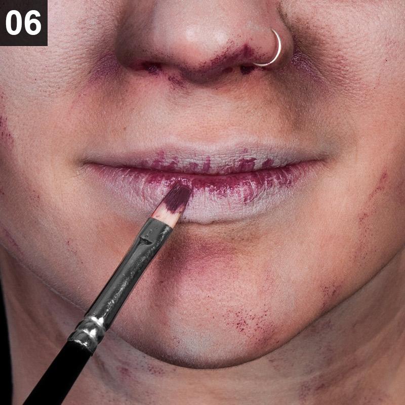 Schritt 6: Lippen einschminken