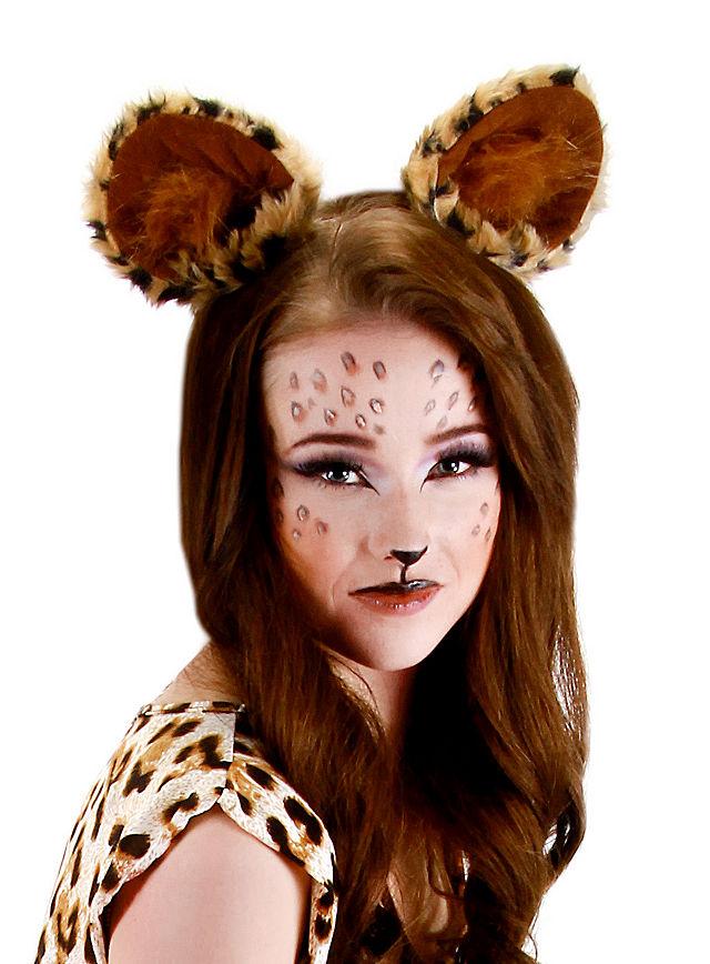 Katzenohren LEo Raubtier Ohren für Fasching