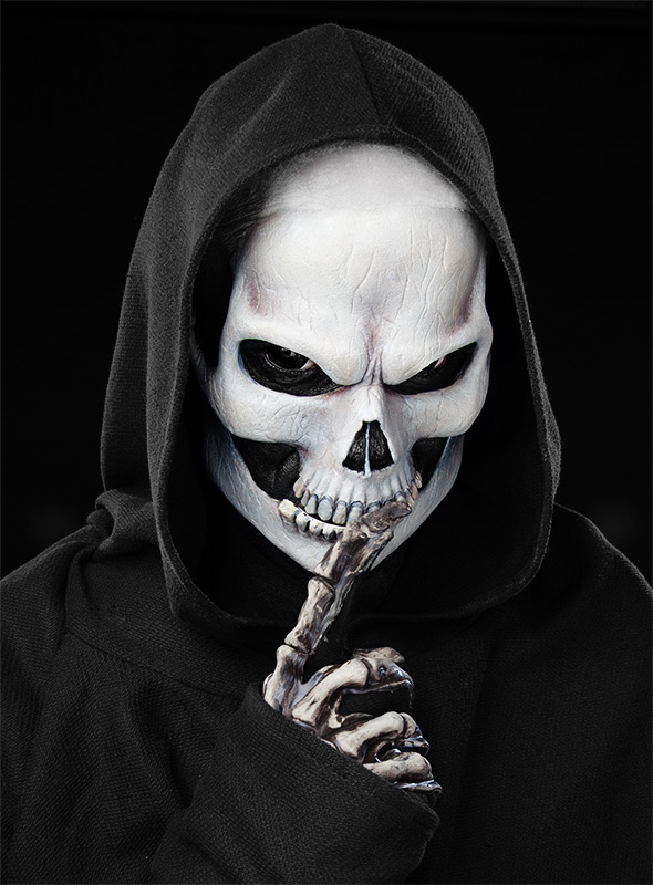 Skull Face Paint For Men