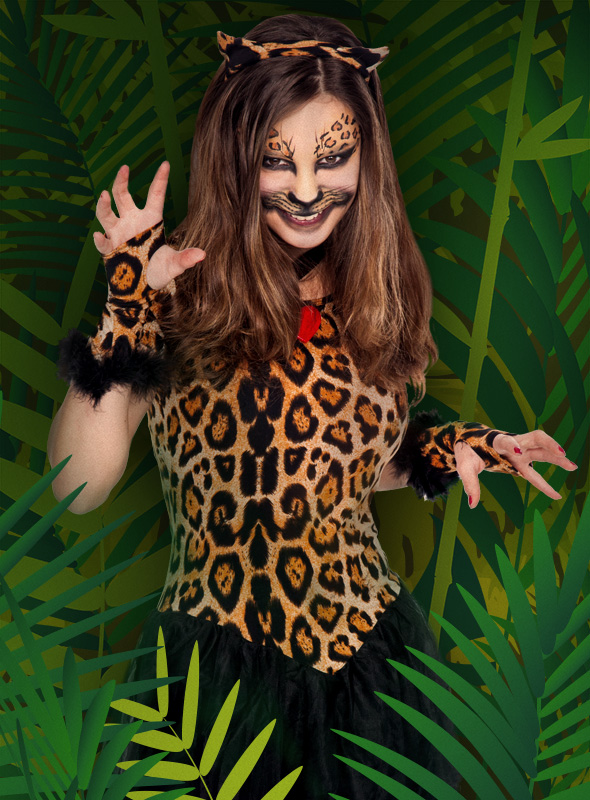 Katzen schminken katzengesicht make up