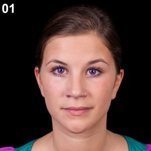 Step 1: Kontaktlinsen einsetzen