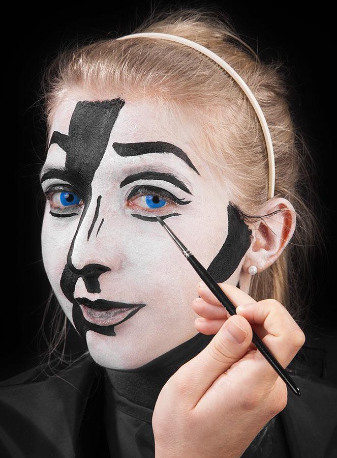 Pop Art Make Up Tutorial Maskworld Com