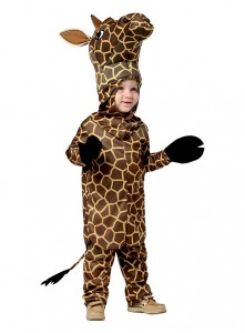 Tall Giraffe Kids Costume