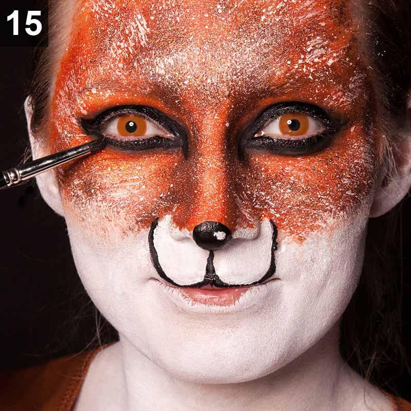 Fuchs Schminken Karneval Make Up Tutorial Maskworld Com