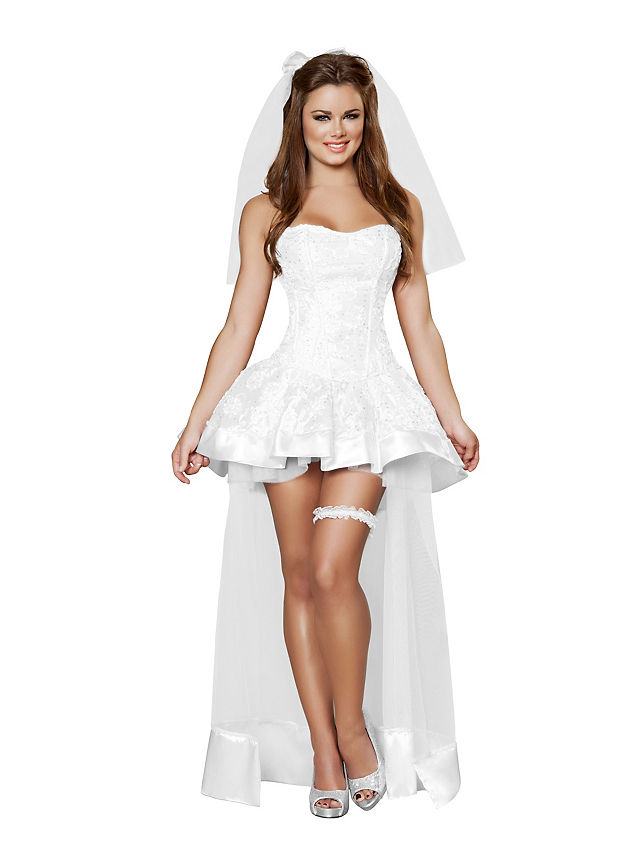 Sexy Adult Woman Rhinestone Bride Of Chucky Tiffany Costume