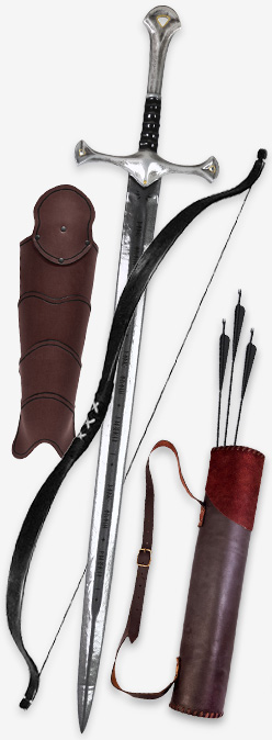 Die Ausrüstung eines Waldläufers