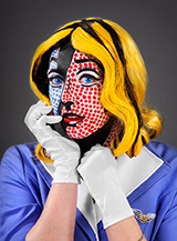 Schminktipp Pop Art: Profi Make-Up How to im Comic-Stil