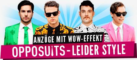 OppoSuits - Coole Anzüge für Herren