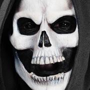 Halloween Schminktipp Totenkopf