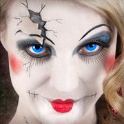 Halloween-Schminktipp: Broken Doll – Porzellanpuppe