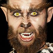Halloween Schminktipp Hipster Werwolf