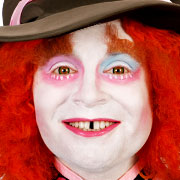 Mad Hatter Make-up – Verrückter Hutmacher