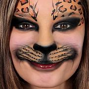 Faschings-Schminktipp: So gelingt ein wildes Katzen Make-up!