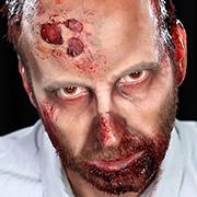 Halloween Schminktipp Zombie