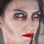 Halloween-Schminktipp Zombie Make-up