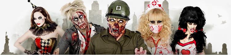 die besten zombie kost me f r halloween. Black Bedroom Furniture Sets. Home Design Ideas