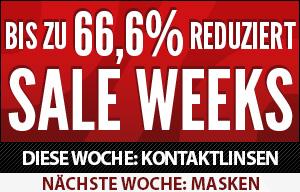 SALE WEEKS - bis zu 80% reduziert!