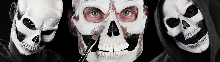 Halloween Make Up Tutorial Totenkopf Maskworld Com