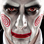 Halloween Schminktipp Saw Billy The Puppet