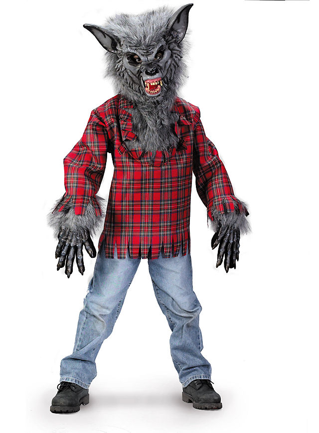 werwolf Kinder Halloween Kostüm