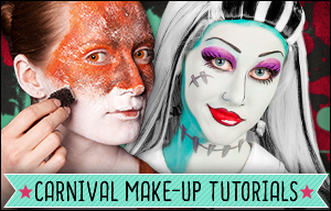 Carnival Make-up Tutorials