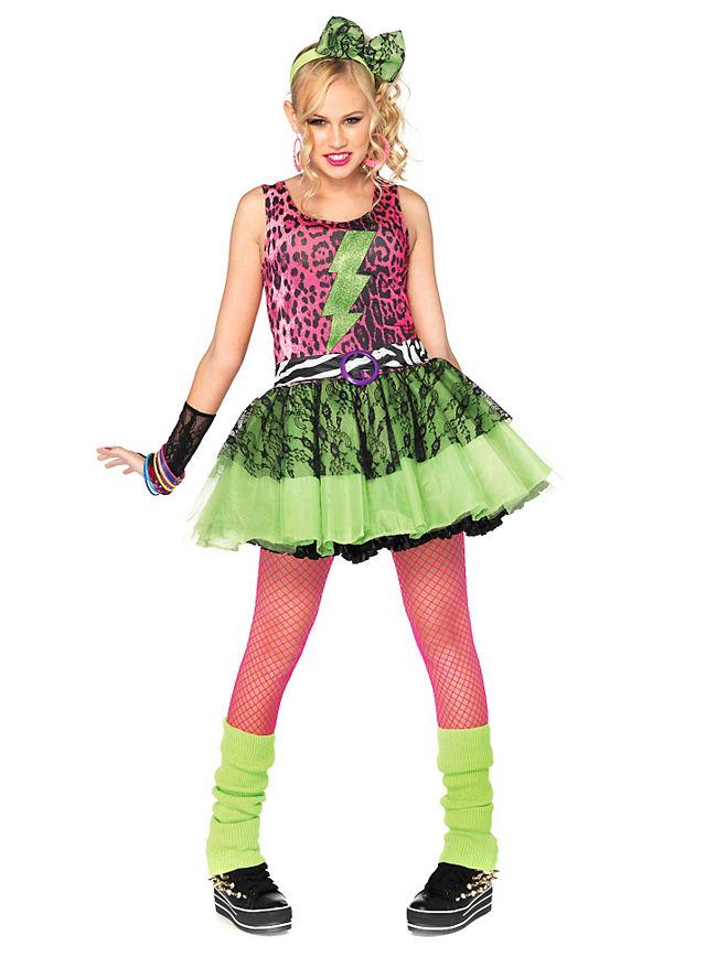 80er Teenie Star Kostum Fur Jugendliche Maskworld Com