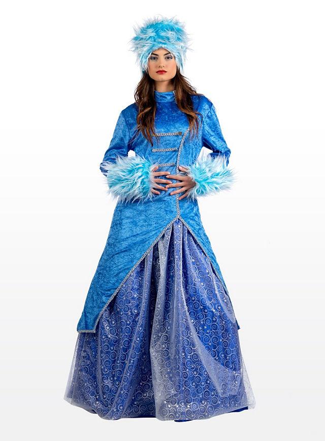 Russische Eisprinzessin Kostüm