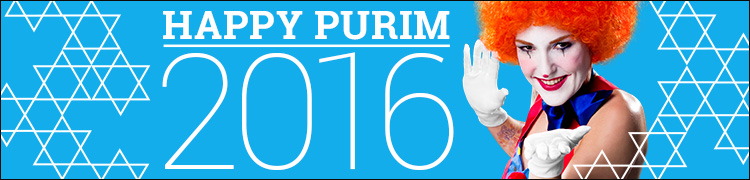 Happy Purim 2016!