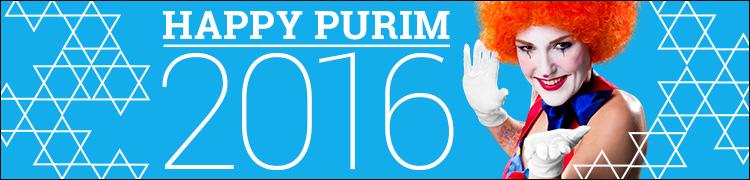 Happy Purim 2016!