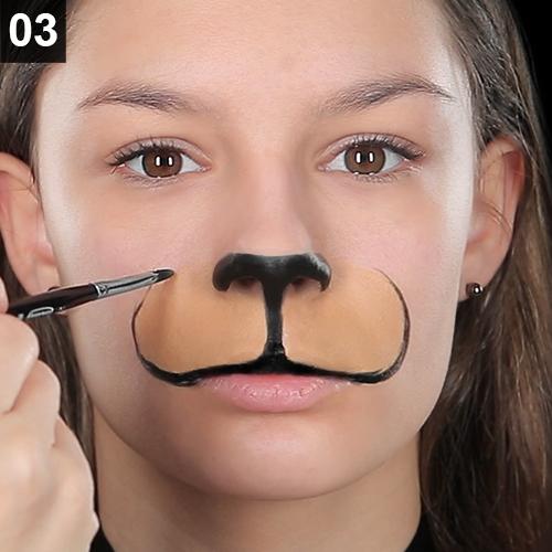 Faschings Schminktipp So Gelingt Ein Wildes Katzen Make Up