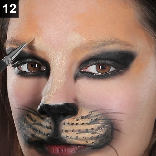 schminken katze make up karneval